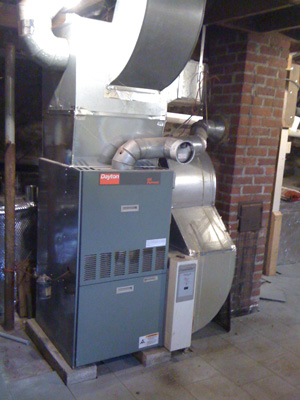 Oil heating systems installed in Fairport
