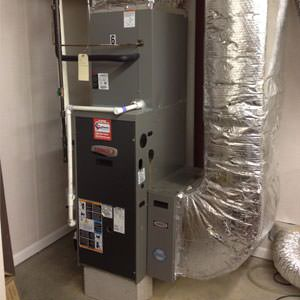 gas heating in Greater Rochester