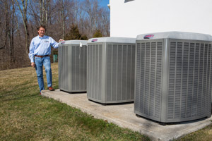 High-efficiency air conditioning in Rochester