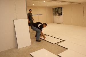 basement floor insulation contractor rochester insulated subfloor