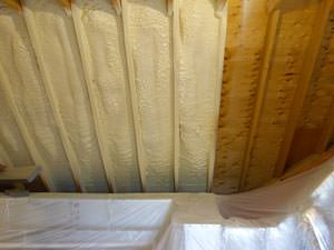 Spray Foam Insulation Installed In Pittsford