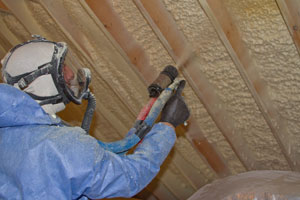 Spray Foam Insulation in Rochester, NY home